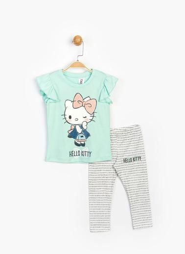 Hello Kitty 2 li Takım Yeşil